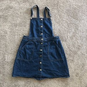 Divided overall dress